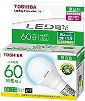 東芝 LED電球 LDA7N-G-E17/S60WST 1ケース(10個) 口金E17 昼白色 広配光 小型電球40W形相当 非調光