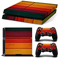 Linyuan 安定した品質 0371* Skin Sticker Vinyl Decal Cover for PlayStation 4 PS4 Console+Controllers