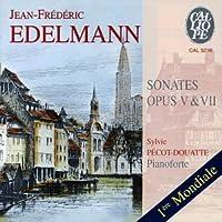 Jean-Frederic Edelmann: Sonates, opp. 5 & 7