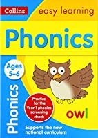 Collins Easy Learning Age 5-7 -- Phonics Ages 5-6: New Edition
