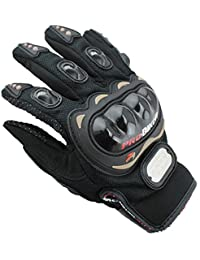 PROBIKE バイクグローブ 快適 滑り止め マジックテープ 安全性 サイクリンググローブ 自転車グローブ 手袋 防寒グメッシュグローブ エアスルー