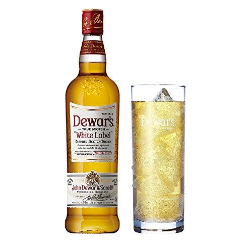 スコッチウイスキー デュワーズ ホワイトラベル オリジナルグラ...
