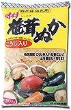 伊勢惣 味付椎茸ぬか 500g×4個