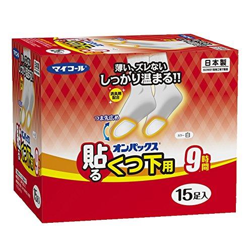 [해외]온 팍스 양말에 붙이는 카이로 15 발 입력 일제   지속 시간 약 9 시간/On-pax for shoulder sticks Cairo 15 sticks Made in Japan   duration approximately 9 hours