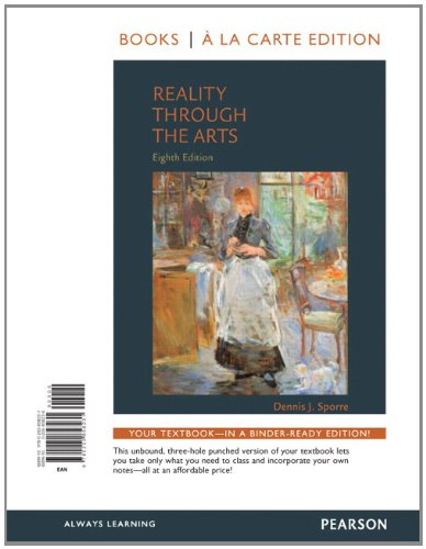 Download Reality Through the Arts, Books a la Carte Edition 0205858236