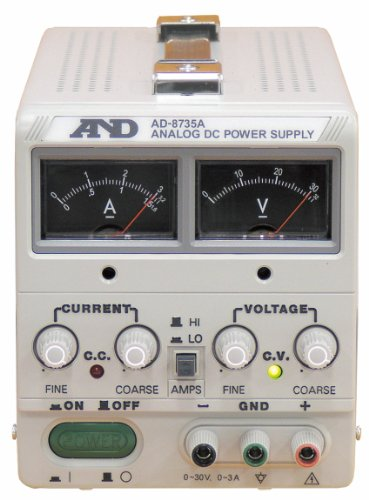 A&D 直流安定化電源 AD-8735A