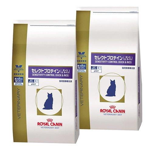 【2袋セット】ロイヤルカナン 食事療法食 猫用 セレクトプロテイン ダック&ライス ドライ 4kg...