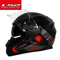 バイクヘルメット ヘルメット フルフェイス 男女兼用 送料無料 ダブルシールド PSC付き オシャレ YHZ-05[商品15/XL]