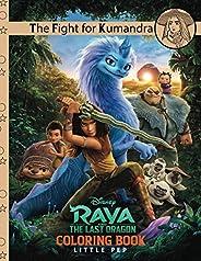 The Fight for Kumandra: Raya and the Last Dragon Little Pep Book (Disney Raya and the Last Dragon)