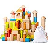 baobë 積み木 ブロック 知育玩具 男の子 女の子 贈り物 誕生日プレゼント 出産祝い 育に最適(想像力&立体感覚&造形性&達成感など) 子どもに愛される彩色 ママ友の間に沸騰中 (80PCS)