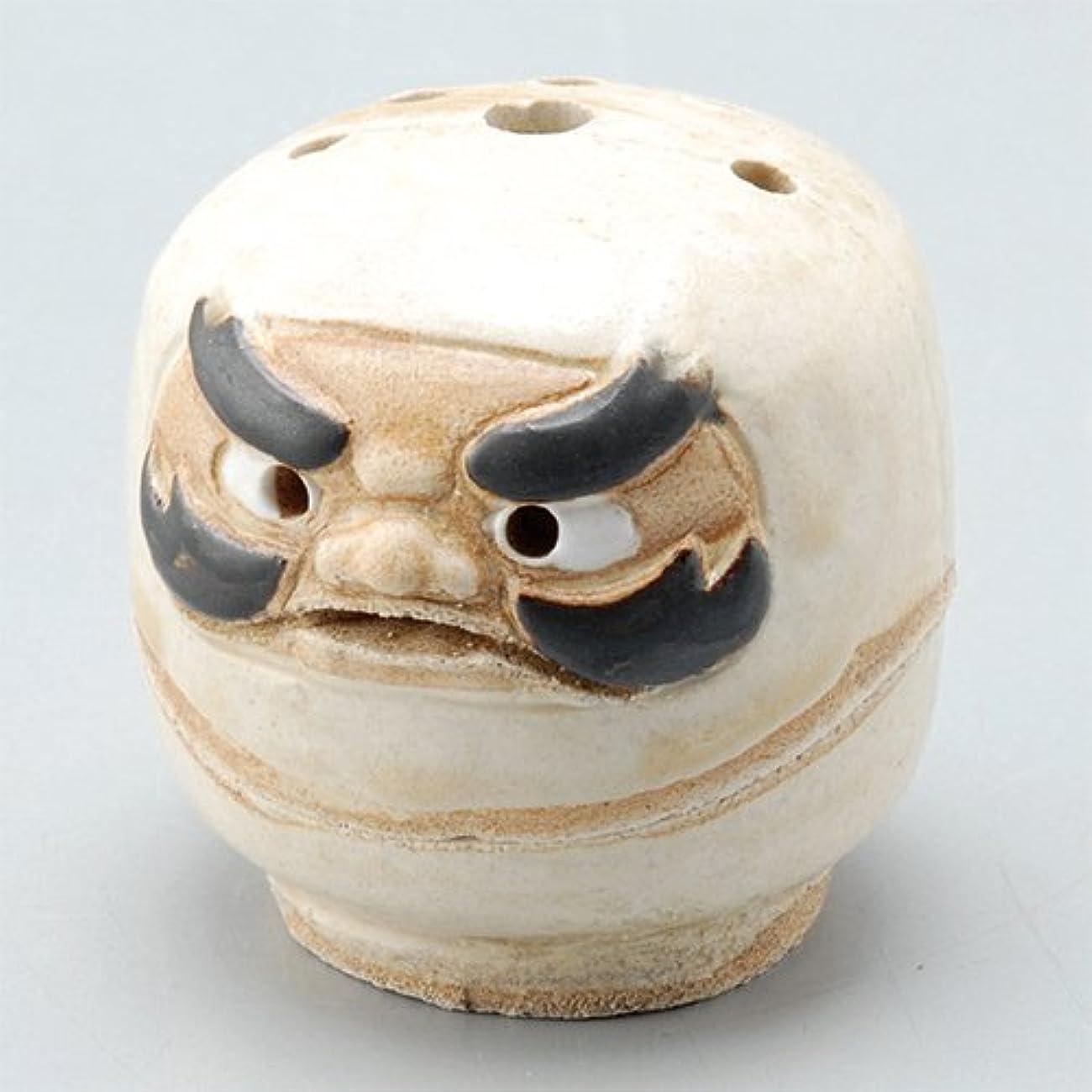 乱気流世界記録のギネスブックひそかに香炉 飾り香炉(達磨) [H5.6cm] HANDMADE プレゼント ギフト 和食器 かわいい インテリア