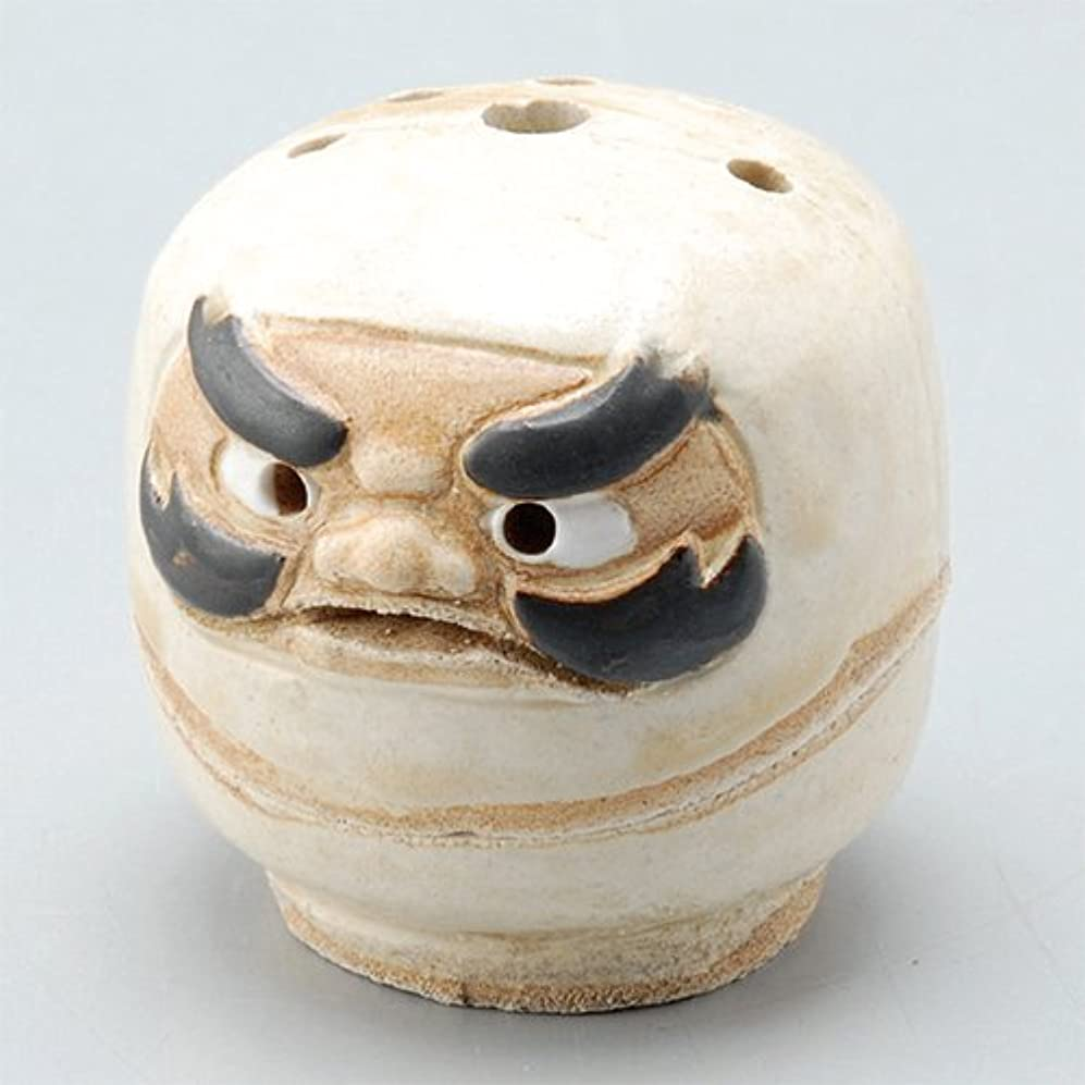 枢機卿名前チーズ香炉 飾り香炉(達磨) [H5.6cm] HANDMADE プレゼント ギフト 和食器 かわいい インテリア