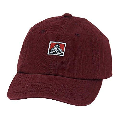 [ベン デイビス]BEN DAVIS キャップ ローキャップ 帽子 コットン フリーサイズ メンズ レディース BDW-9433B bendavis2-512 (ワイン)