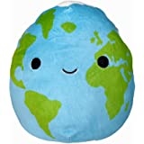 Squishmallows Official Kellytoy Space Squad 8 Inch Squishy Soft Plush Toy Animal (Roman The Earth)
