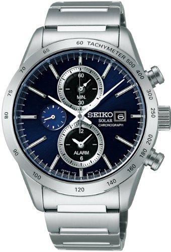 [セイコー]SEIKO 腕時計 SPIRIT SMART スピリットスマート クロノグラフ ソーラー サファイアガラス 日常生活用強化防水 (10気圧) SBPY115 メンズ