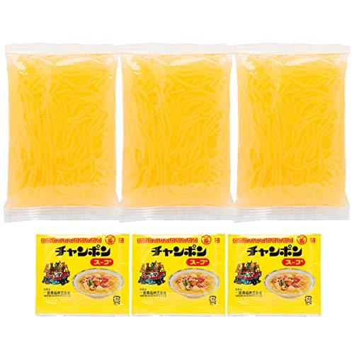 こんにゃくラーメン 3食 ちゃんぽん〔こんにゃく麺(細めん)100g×3・ソース×3〕 ポスト投函便配送