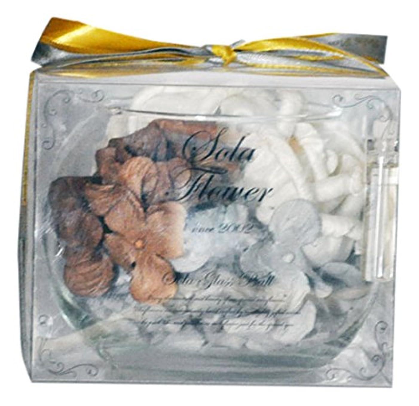 連想ジーンズ汚れたSola Flower  ソラフラワー Christmas Version グラスボウル スパークリングローズ