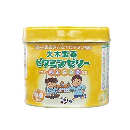 1歳からのビタミンゼリー レモン風味 160粒 ×10セット