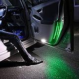 カローラ ルミオン ledテープ ledテープライト 光が流れる フットランプ カーテシ 30led 流れる グリーン 10本セット NZE151,ZR お買い得 セット割