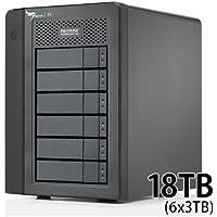 Promise Pegasus2 R6 18TB(3TBx6) モデル Thunderbolt対応ストレージ F40SR6R07100000