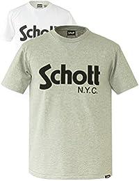 (ショット) Schott ショット SchottのロゴがプリントTシャツ