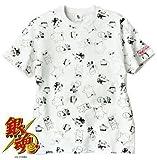 銀魂×大川ぶくぶ 総柄Tシャツ【LL】 ポプテピピック