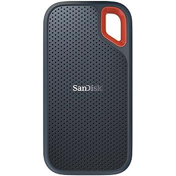 SanDisk ポータブルSSD  1TB 【PS4 メーカー動作確認済】 USB3.1 Gen2 防滴 耐振 耐衝撃 SDSSDE60-1T00-J25 Extreme Portable 3年保証