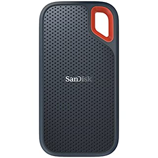 SanDisk サンディスク エクストリーム ポータブル SSD 500GB USB3.1 Gen2対応 防滴 耐振 耐衝撃SDSSDE60-500G-J25 3年保証【PlayStation4 メーカー動作確認済】