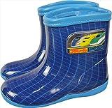 (プラレール) PLARAIL 16139 子供 キッズ ジュニア 長靴 レインブーツ (19.0cm, ネイビー)