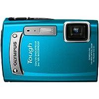 OLYMPUS デジタルカメラ TG-320 1400万画素 3m防水 1.5m耐落下衝撃 ブルー TG-320 BLU