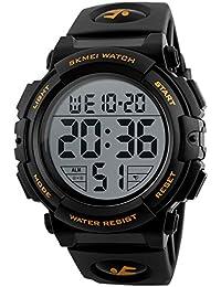 目覚まし時計の日付の学生の時計はデジタル防水スポーツ腕時計電子クライミング時計を主導しました