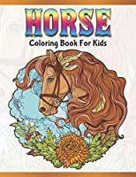 Horse Coloring Book for Kids: Cute Animals: Relaxing Colouring Book | Coloring Activity Book | Discover This Collection Of Horse Coloring Pages