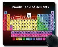 マウスパッド、周期表マウスマット、化学専門家、厚手ゴム製大型マウスパッド