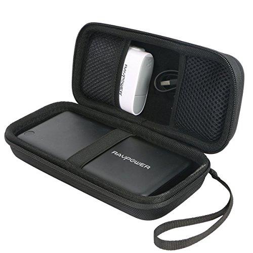 RAVPower 26800mAh モバイルバッテリー 対応 キャリングケース 旅行収納 -Khanka