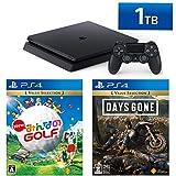 PlayStation 4 + New みんなのGOLF + Days Gone セット (ジェット・ブラック) (HDD容量:1TB CUH-2200BB01)