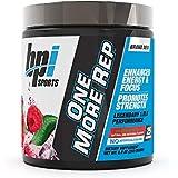 BPI Sports One More Rep Pre-Workout Powder 25 Serve, Raspberry Tea, 250 grams