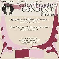 Thomas Jensen & John Frandsen conduct Nielsen Symphonies 3 & 6 etc by Nielsen (2009-03-10)