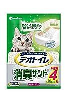 デオトイレ 消臭サンド お徳用4L 3袋入り 猫砂 シリカゲル
