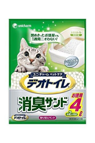 デオトイレ 消臭サンド お徳用4L 3袋...