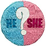 He or She. Gender Reveal Pinata 41cm