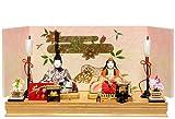 【雛人形】木目込人形:日菜雛:京華作【木目込親王飾】 3KKO1-103