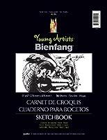 """若いアーティスト Bienfang スケッチ ブック 9""""× 12""""36 シート-45 ポンド ワイヤ区切なさい"""