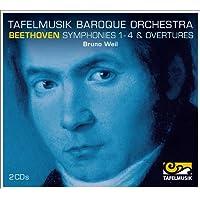 ベートーヴェン:交響曲 第1番-第4番&序曲集(Ludwig van Beethoven : Symphonies No.1-No.4)[2CDs]