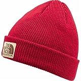 THE NORTH FACE(ザ・ノースフェイス) ワッペン ニット帽 メンズ レディース Stitchwork Beanie ステッチワーク ビーニー 帽子 CP-ブラッシュレッド Free stitchwork-beanie-nn41620-CP