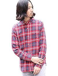 (コーエン) COEN ネルチェックボタンダウンシャツ2