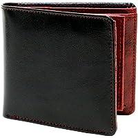 [エムアールユー] 財布 二つ折り財布 革 牛革 ボックス型小銭入れ メンズ