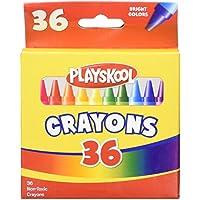 Playskool 36明るい色クレヨンボックス