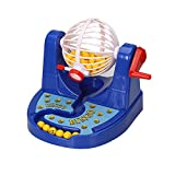Cozyrom 多人ゲーム ビンゴゲーム機 面白い 数字ゲーム アナログ宝くじ抽選機 知育玩具
