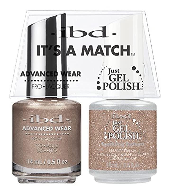 異邦人クライストチャーチマラソンibd - It's A Match -Duo Pack- Sparkling Embers - 14 mL / 0.5 oz Each