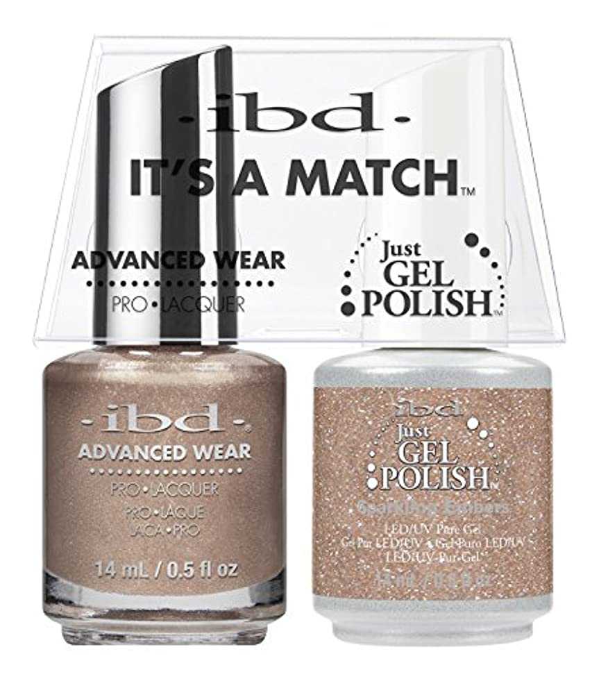 知事挑むサイズibd - It's A Match -Duo Pack- Sparkling Embers - 14 mL / 0.5 oz Each